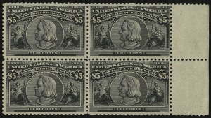 Sale Number 935, Lot Number 19, Columbian Issue$5.00 Columbian (245), $5.00 Columbian (245)