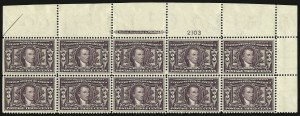 Sale Number 935, Lot Number 38, Louisiana Purchase Issue3c Louisiana Purchase (325), 3c Louisiana Purchase (325)