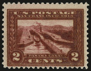 "Sale Number 935, Lot Number 66, Panama-Pacific Issue2c Panama-Pacific, ""Varnish Ink"" (398 var), 2c Panama-Pacific, ""Varnish Ink"" (398 var)"