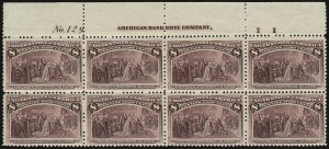 Sale Number 935, Lot Number 9, Columbian Issue8c Columbian (236), 8c Columbian (236)