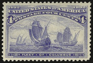 Sale Number 937, Lot Number 180, Columbian Issue4c Columbian (233), 4c Columbian (233)