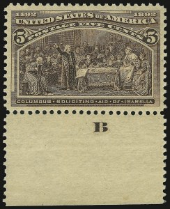 Sale Number 937, Lot Number 181, Columbian Issue5c Columbian (234), 5c Columbian (234)