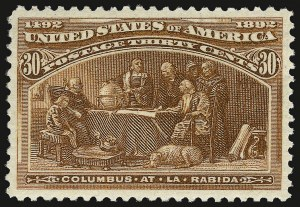 Sale Number 937, Lot Number 184, Columbian Issue30c Columbian (239), 30c Columbian (239)