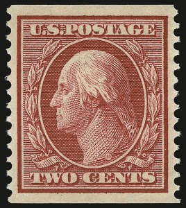 Sale Number 937, Lot Number 236, Washington-Franklin and Commemorative Issues2c Carmine, Coil (388), 2c Carmine, Coil (388)