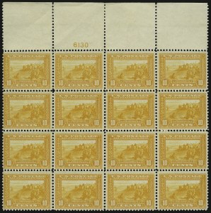 Sale Number 937, Lot Number 237, Washington-Franklin and Commemorative Issues10c Orange Yellow, Panama-Pacific (400), 10c Orange Yellow, Panama-Pacific (400)