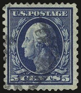 Sale Number 937, Lot Number 243, Washington-Franklin and Commemorative Issues5c Blue, Perf 12 x 10 (423C; formerly 428a), 5c Blue, Perf 12 x 10 (423C; formerly 428a)