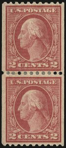 Sale Number 937, Lot Number 246, Washington-Franklin and Commemorative Issues2c Red, Ty. I, Coil (449), 2c Red, Ty. I, Coil (449)