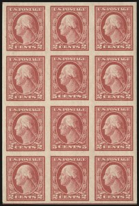 Sale Number 937, Lot Number 253, Washington-Franklin and Commemorative Issues5c Carmine, Imperforate, Error (485), 5c Carmine, Imperforate, Error (485)