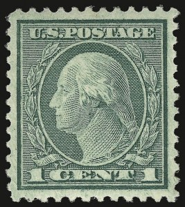 Sale Number 937, Lot Number 274, Washington-Franklin and Commemorative Issues1c Green, Rotary (545), 1c Green, Rotary (545)