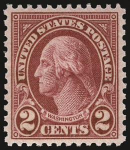Sale Number 937, Lot Number 280, 1922 and Later Issues2c Carmine, Ty. II (634A), 2c Carmine, Ty. II (634A)