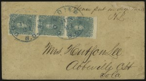 Sale Number 937, Lot Number 370, Confederate States2c Green (3), 2c Green (3)