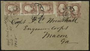 Sale Number 937, Lot Number 373, Confederate States2c Brown Red (8), 2c Brown Red (8)