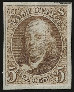 Sale Number 938, Lot Number 1020, 1847 Issue5c Red Brown, 10c Black, Reproductions (3-4), 5c Red Brown, 10c Black, Reproductions (3-4)