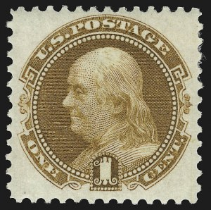 Sale Number 938, Lot Number 1230, 1875 Re-Issue of 1869 Pictorial Issue1c Buff, Re-Issue (123), 1c Buff, Re-Issue (123)