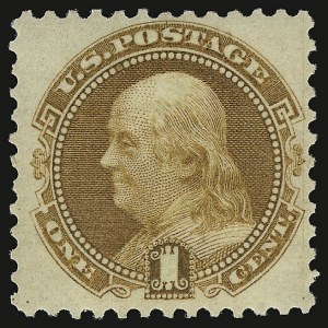 Sale Number 938, Lot Number 1232, 1875 Re-Issue of 1869 Pictorial Issue1c Buff, Re-Issue (123), 1c Buff, Re-Issue (123)