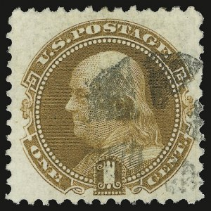 Sale Number 938, Lot Number 1233, 1875 Re-Issue of 1869 Pictorial Issue1c Buff, Re-Issue (123), 1c Buff, Re-Issue (123)