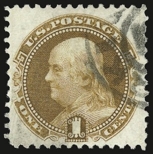 Sale Number 938, Lot Number 1235, 1875 Re-Issue of 1869 Pictorial Issue1c Buff, Re-Issue (123), 1c Buff, Re-Issue (123)