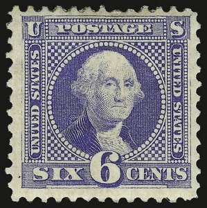 Sale Number 938, Lot Number 1240, 1875 Re-Issue of 1869 Pictorial Issue6c Blue, Re-Issue (126), 6c Blue, Re-Issue (126)