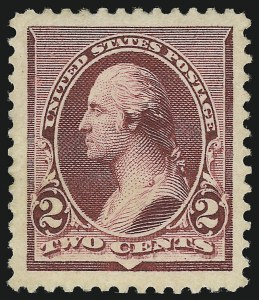 Sale Number 938, Lot Number 1352, 1890-93 Issue2c Lake (219D), 2c Lake (219D)