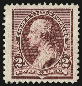 Sale Number 938, Lot Number 1353, 1890-93 Issue2c Lake (219D), 2c Lake (219D)