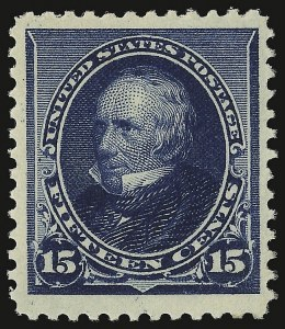 Sale Number 938, Lot Number 1358, 1890-93 Issue15c Indigo (227), 15c Indigo (227)