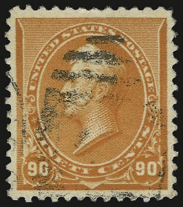 Sale Number 938, Lot Number 1360, 1890-93 Issue90c Orange (229), 90c Orange (229)