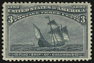 Sale Number 938, Lot Number 1364, 1893 Columbian Issue1c-3c Columbian (230-232), 1c-3c Columbian (230-232)