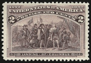 Sale Number 938, Lot Number 1365, 1893 Columbian Issue2c Columbian (231), 2c Columbian (231)