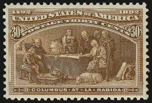 Sale Number 938, Lot Number 1382, 1893 Columbian Issue30c Columbian (239), 30c Columbian (239)
