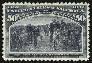 Sale Number 938, Lot Number 1383, 1893 Columbian Issue50c Columbian (240), 50c Columbian (240)