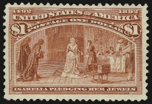 Sale Number 938, Lot Number 1387, 1893 Columbian Issue$1.00 Columbian (241), $1.00 Columbian (241)