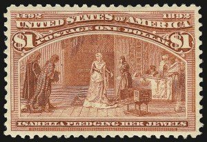Sale Number 938, Lot Number 1388, 1893 Columbian Issue$1.00 Columbian (241), $1.00 Columbian (241)