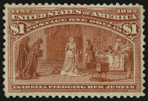 Sale Number 938, Lot Number 1389, 1893 Columbian Issue$1.00 Columbian (241), $1.00 Columbian (241)