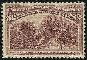 Sale Number 938, Lot Number 1393, 1893 Columbian Issue$2.00 Columbian (242), $2.00 Columbian (242)