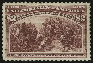 Sale Number 938, Lot Number 1394, 1893 Columbian Issue$2.00 Columbian (242), $2.00 Columbian (242)