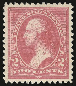 Sale Number 938, Lot Number 1408, 1894-98 Bureau Issues2c Pink, Ty. I (248), 2c Pink, Ty. I (248)