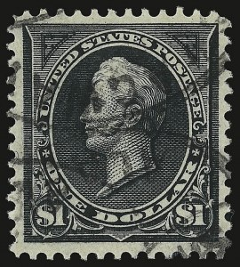 Sale Number 938, Lot Number 1438, 1894-98 Bureau Issues$1.00 Black, Ty. I (276), $1.00 Black, Ty. I (276)
