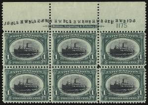 Sale Number 938, Lot Number 1472, Pan-American Issue1c Pan-American (294), 1c Pan-American (294)