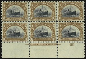 Sale Number 938, Lot Number 1483, Pan-American Issue10c Pan-American (299), 10c Pan-American (299)