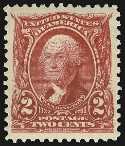 Sale Number 938, Lot Number 1486, 1902-08 Issues (Scott 300 thru 322)2c Carmine (301), 2c Carmine (301)