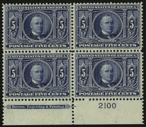 Sale Number 938, Lot Number 1525, Louisiana Purchase, Jamestown Issues5c Louisiana Purchase (326), 5c Louisiana Purchase (326)