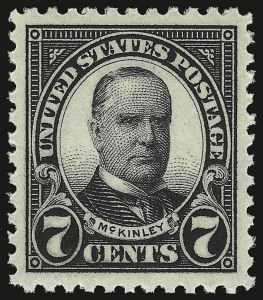 Sale Number 938, Lot Number 1729, 1922-29 and Later Issues (Scott 551 to 2866b)7c Black (559), 7c Black (559)