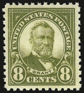 Sale Number 938, Lot Number 1730, 1922-29 and Later Issues (Scott 551 to 2866b)8c Olive Green (560), 8c Olive Green (560)
