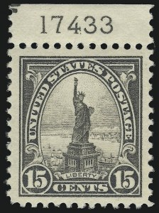 Sale Number 938, Lot Number 1736, 1922-29 and Later Issues (Scott 551 to 2866b)15c Gray (566), 15c Gray (566)