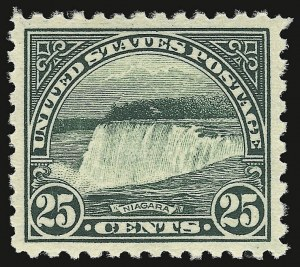 Sale Number 938, Lot Number 1738, 1922-29 and Later Issues (Scott 551 to 2866b)25c Yellow Green (568), 25c Yellow Green (568)