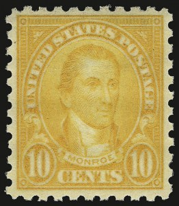 Sale Number 938, Lot Number 1751, 1922-29 and Later Issues (Scott 551 to 2866b)10c Orange, Perf 10 (591), 10c Orange, Perf 10 (591)