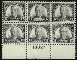 Sale Number 938, Lot Number 1764, 1922-29 and Later Issues (Scott 551 to 2866b)13c Green, 17c Black (622-623), 13c Green, 17c Black (622-623)