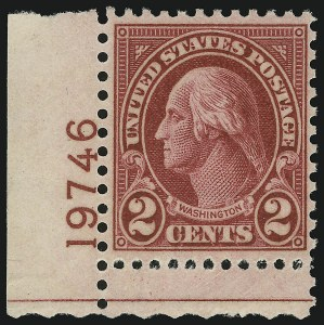 Sale Number 938, Lot Number 1768, 1922-29 and Later Issues (Scott 551 to 2866b)2c Carmine, Ty. II (634A), 2c Carmine, Ty. II (634A)