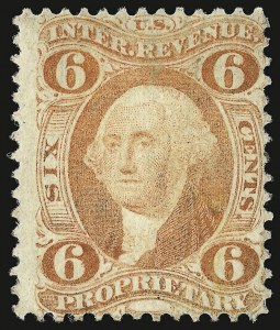 Sale Number 938, Lot Number 1930, Revenues6c Proprietary, Perforated (R31c), 6c Proprietary, Perforated (R31c)