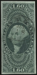Sale Number 938, Lot Number 1932, Revenues$1.60 Foreign Exchange, Imperforate (R79a), $1.60 Foreign Exchange, Imperforate (R79a)